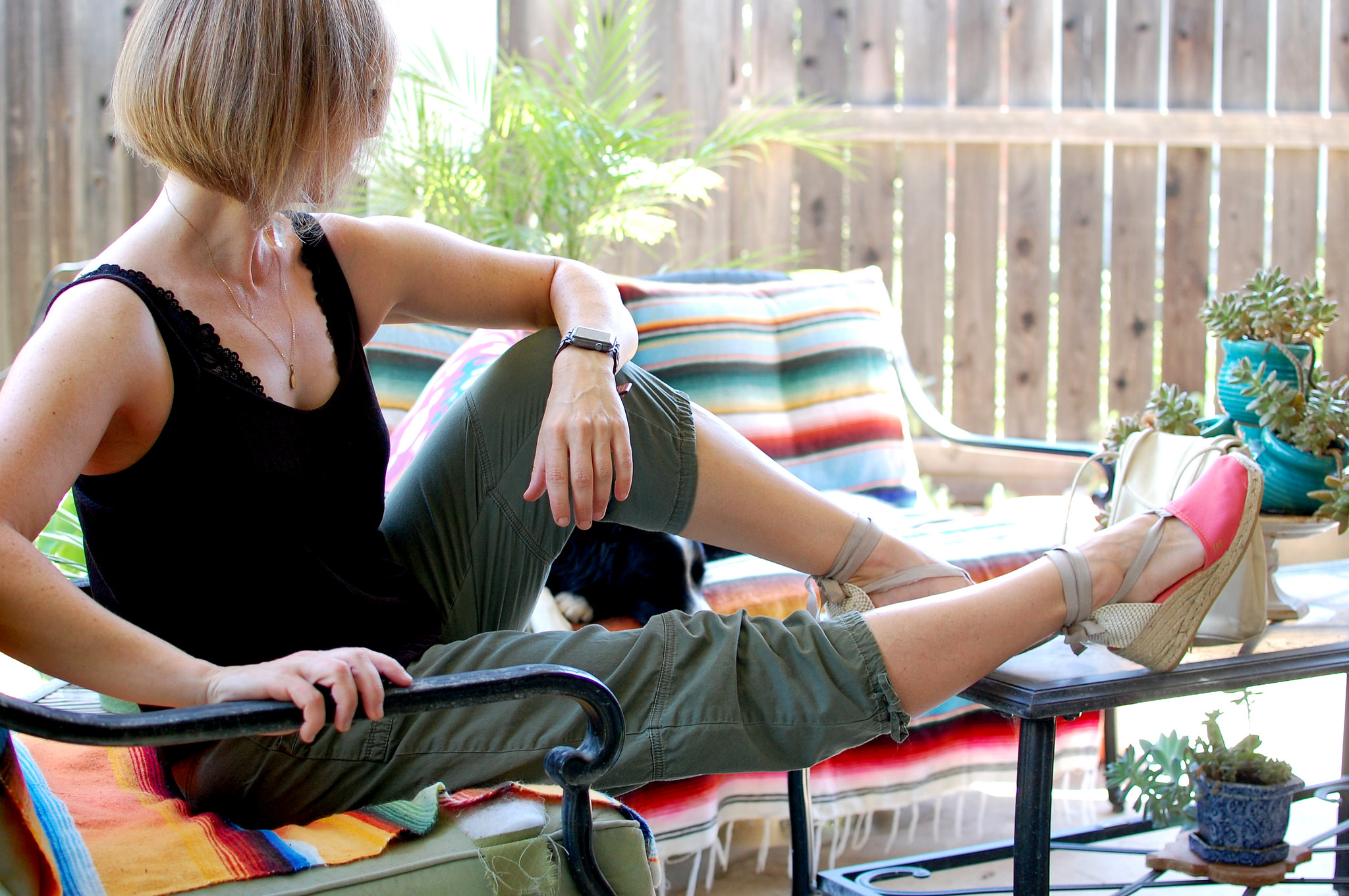 sacramento summer daily outfit style blog ootd whatiwore2day espadrilles wedge