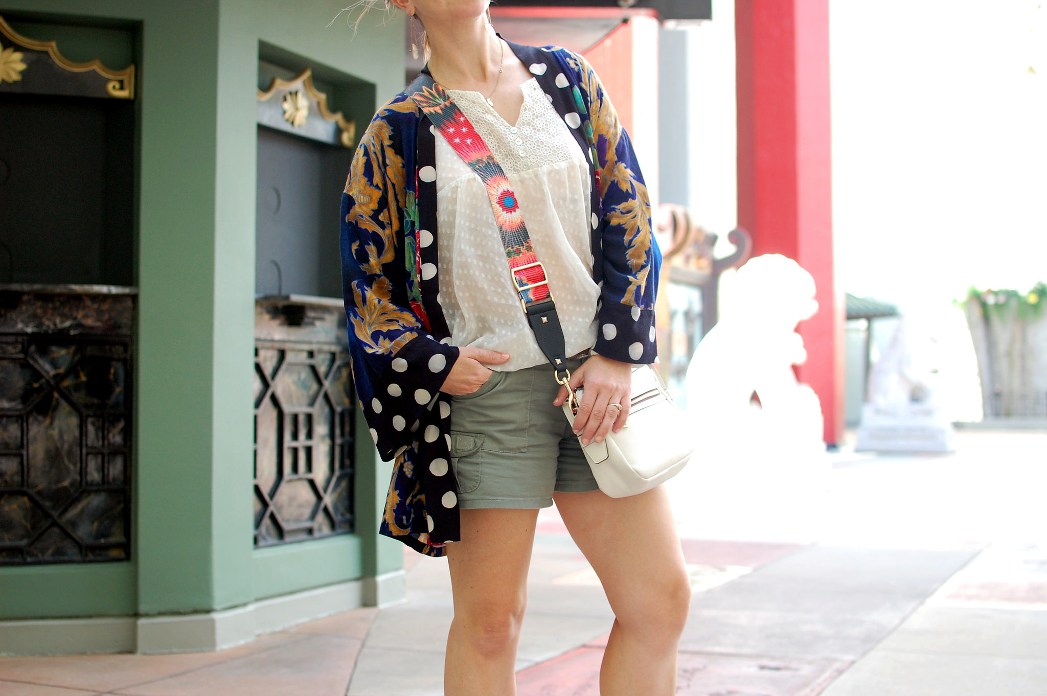 hollywood studios disney world tourist outfit kimono daily outfit blog ootd whatiwore2day