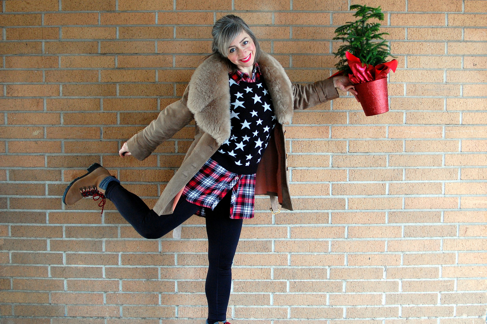christmas eve outfit daily outfit blog ootd whatiwore2day