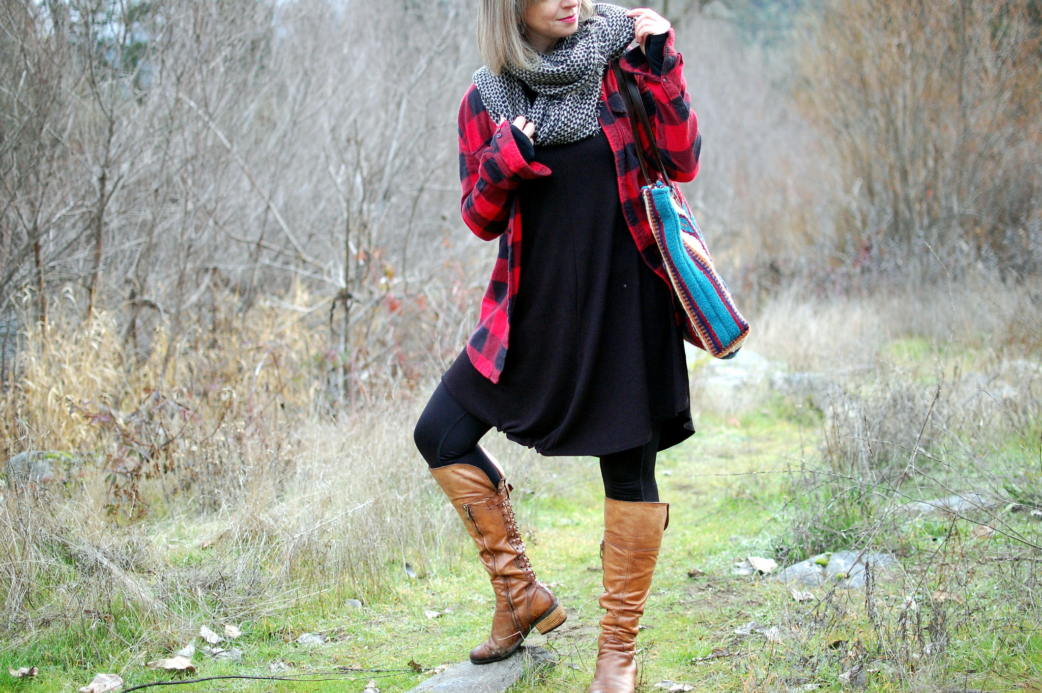 buffalo plaid flannel shirt daily outfit blog whatiwore2day ootd
